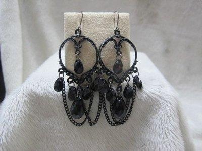 二手舖 NO.2897 造型耳環 耳針 4對一組 便宜賣 首飾飾品