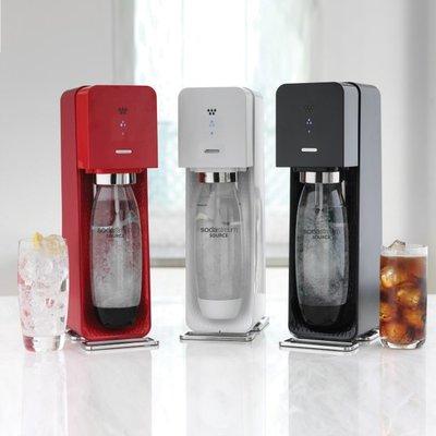 【高雄104家電館】送有機糖漿 X1~SodaStream Source plastic氣泡水機 (三色可選)
