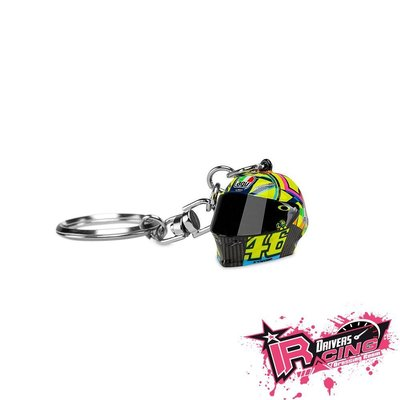 ♚賽車手的試衣間♚ VR46 Rossi Helmet Key Holder 鑰匙圈 AGV
