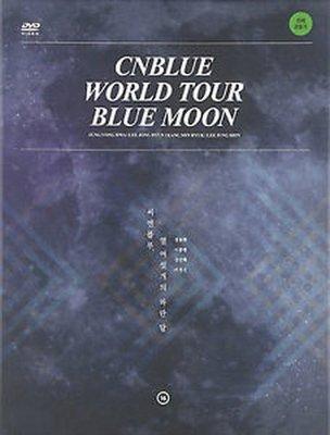 【出清價】WORLD TOUR BLUE MOON (華納代理韓國進口版)/CNBLUE---8809375120182