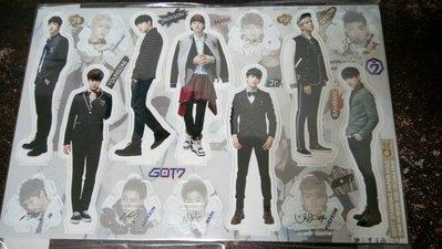 現貨,韓國最新!GOT7 立牌,全體成員 JB、Junior、Youngjae、Yugyeom、Mark、Jackson
