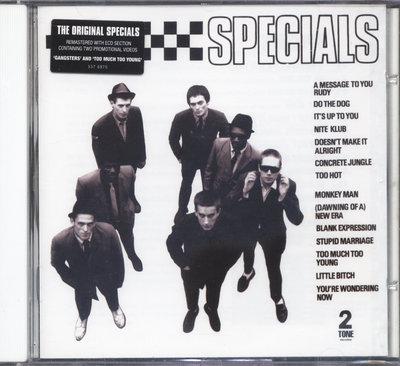 【弦外之音∮】The Specials–Self-titled /新浪潮搖滾經典/1CD/全新未拆封