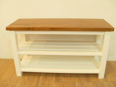 松木椅 實木**樂在幸福**木作坊 ~A140~松木椅~柚木搭白色~