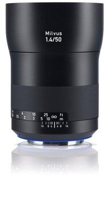 九晴天 租鏡頭 租相機 出租~ZEISS Milvus 50mm f1.4 (Canon EF)