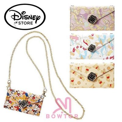 光華商場。包你個頭【Disney】迪士尼 iPhone6/6s 金屬鍊 可側背 米奇 小熊維尼 長髮公主 愛麗絲 皮套