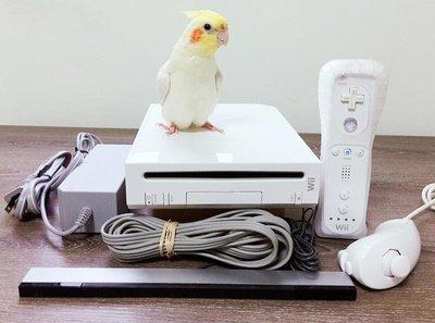 wii全套主機(新版完整中文化改機)--內建遊戲+贈送正版遊戲光碟