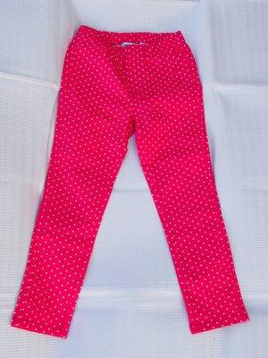 綠園~全新bossini女童長褲  粉色白點點  亮麗 舒適 好搭