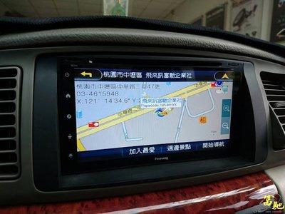 富馳汽車音響  01~07年TOYOTA ALTIS改裝7吋多媒體主機~導航/USB/數位電視/藍芽/支援安卓手機鏡像
