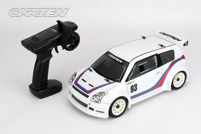 ** RC 小舖** CARTEN RC M210 1/12 像真拉力賽房車RTR (組裝完成品)2.4G 槍型遙控器