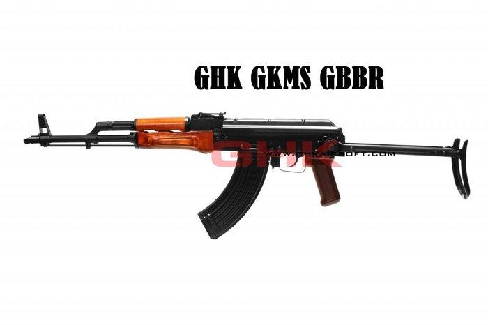 【翔準軍品AOG】 GHK GKMS GBBR步槍 俄羅斯 特種 戰術 AK