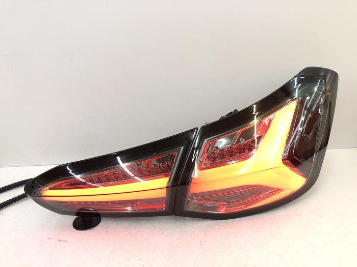 車燈 FOCUS MK4 LED 導光 尾燈 後燈 福克斯 跑馬 流光 方向燈 19 20 21 年 燻黑 殼 改裝