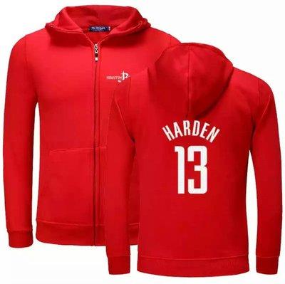 🎀大鬍子James Harden哈登純棉運動厚外套🎀NBA球衣火箭隊Nike耐克愛迪達棒球籃球風衣休閒薄夾克男738