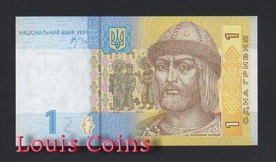 【Louis Coins】B512-UKRAINE--2006烏克蘭紙幣1 Hrivnya