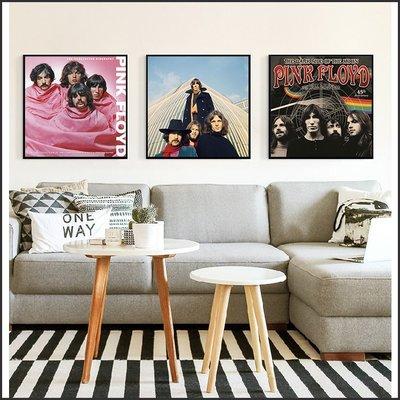 日本製油畫布 明星海報 Pink Floyd 平克 佛洛伊德 掛畫 裝飾畫 @Movie PoP 賣場多款海報#