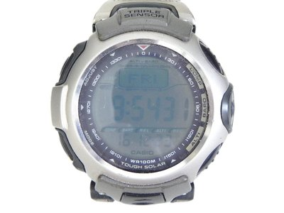 登山錶 [CASIO PRG-50]  卡西歐 PROTREK 太陽能專業登山錶 PRG-50液晶變灰 高雄市