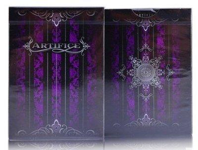 紫色詭計撲克牌 Purple Artifice Deck Ellusionist 收藏牌