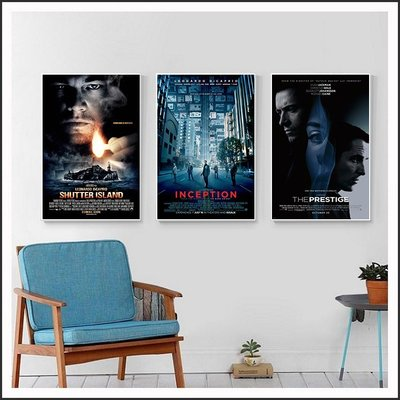 全面啟動 Inception 頂尖對決 隔離島 電影海報 藝術微噴 掛畫 嵌框畫 @Movie PoP 賣場多款海報~