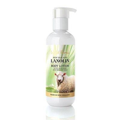 綿羊油玫瑰果油身體乳230ml (添加酪梨) 保濕乳液 Wild Ferns