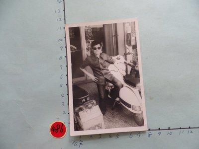 偉士牌,老機車,古董黑白,照片,相片1
