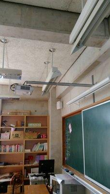 投影機吊架三用架(橫式/垂吊/電視吊架)