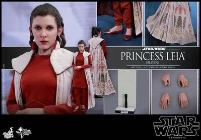 全新 Hot Toys 1/6 MMS508 星際大戰 帝國大反擊 莉亞公主 Leia 貝斯平禮服
