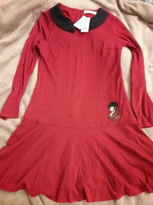 轉賣Betty Boop毛料魚尾裙洋裝