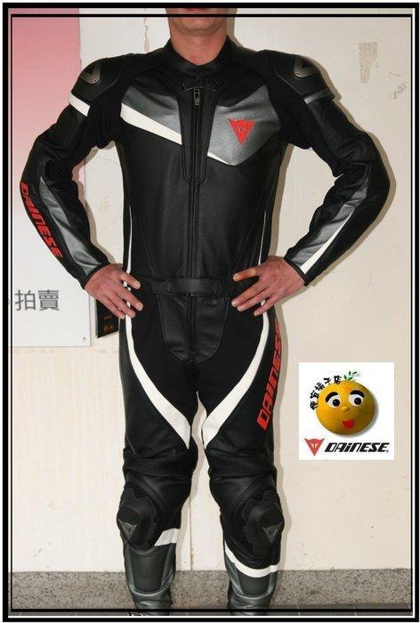 DAINESE兩件式皮衣 T.Veloster 2PC分離式連身皮衣(可刷國旅卡)46號現貨24800元@便宜橘子店@