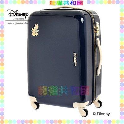 ※龍貓共和國※日本進口 迪士尼Disney《米奇Mickey米妮 行李箱 登機箱58CM》[日本正版_限量珍藏版!]