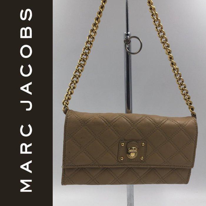 【皮老闆】二手真品 美國精品 MARC JACOBS 斜背包 肩背包 皮夾 藍3