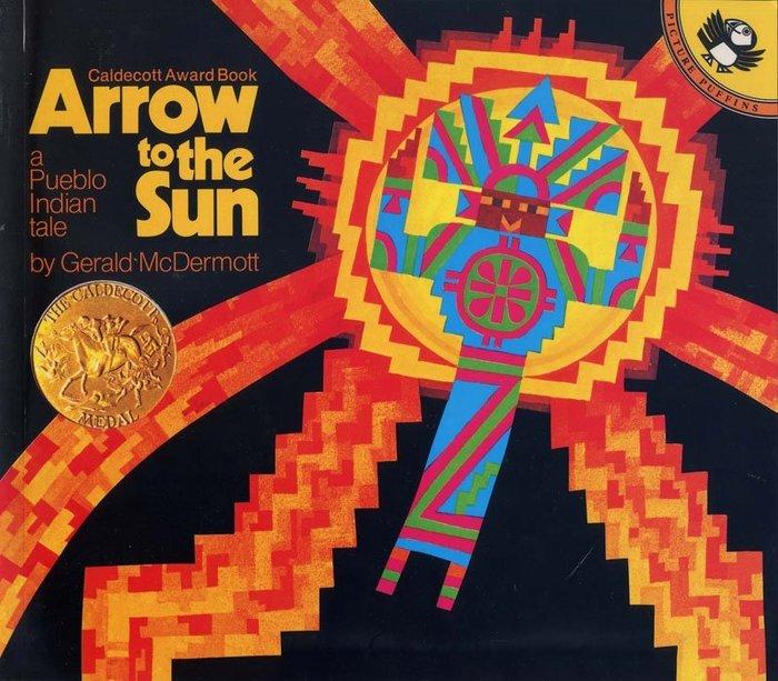 *小貝比的家*ARROW TO THE SUN:A PUEBLO INDIAN TALE/平裝/7~12歲/凱迪克金牌獎