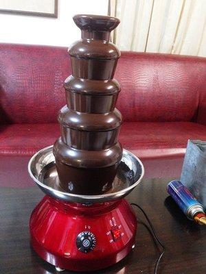 [出租] [自取自還免運]五層巧克力噴泉機 單次租金700元 (5天內歸還)押金5000元 巧克力調製食譜免費分享