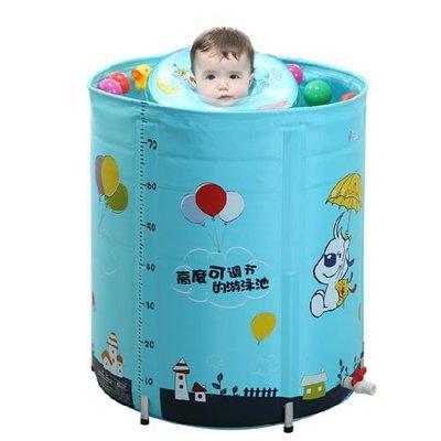 5Cgo 【批發】含稅會員有優惠  35648611145 嬰兒遊泳池 嬰幼兒童合金支架遊泳池超大號寶寶保溫遊泳桶
