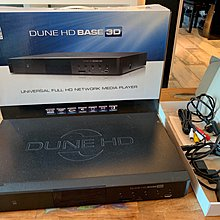 Dune HD Base 3D Media Player Full functional 行貨連盒及線