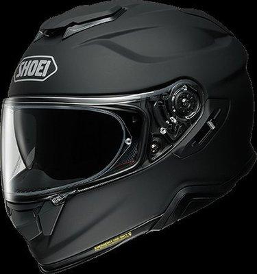 《鼎鴻》SHOEI全罩式安全帽 GT -Air II 2019年新款 消光黑