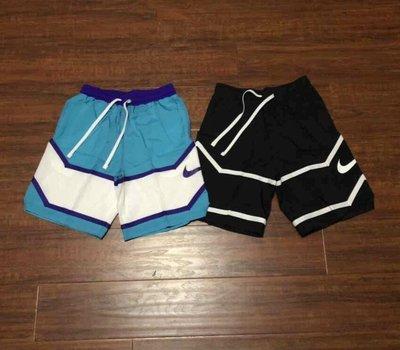 正品 NIKE耐吉男梭織復古拼色籃球訓練運動速干短褲 AJ3899