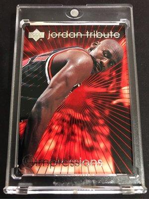 🐐1996-97 Upper Deck Jordan Tribute MJ Impressions #MJ47 Michael Jordan