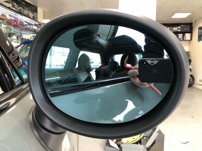 MINI F56 安裝盲區偵測系統
