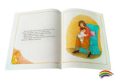 英文原版繪本 Nana Upstairs And Nana Downstairs 樓上的外婆和樓下的外婆