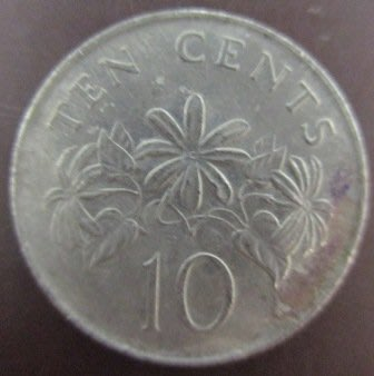 ~SINGAPORE 新加坡 10 TEN CENTS 1985 1987年*2 錢幣/硬幣三枚~