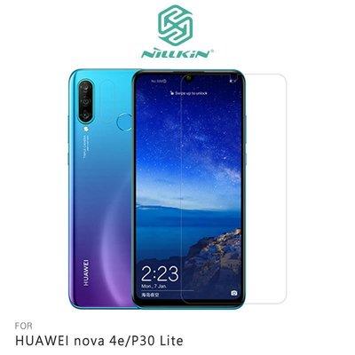 *Phone寶*NILLKIN HUAWEI nova 4e/P30 Lite H+PRO 鋼化玻璃貼 非滿版 保護貼