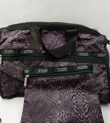(已售)美國LESpORTSAC中型旅行袋(買大送小)近新吊牌末拆  新品5000 特惠價 A大