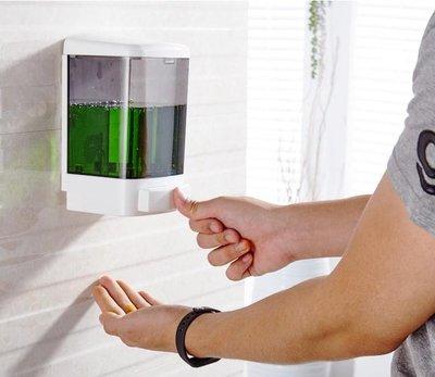 莫頓酒店浴室壁掛式手動大容量皂液器沐浴露瓶子給皂液器洗手液器【全館免運】