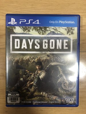 90% New PS4 PS 4 PlayStation Days Gone 往日不再 中文版