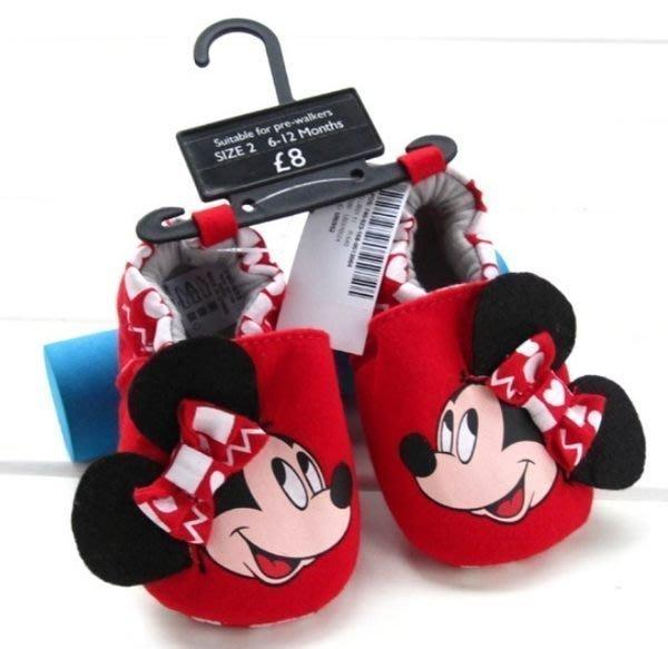 『※妳好,可愛※』~寶貝學步鞋~可愛米妮,寶寶鞋 嬰兒鞋 彌月禮