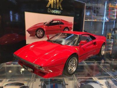 吉華科技@ 1/18 KK-Scale Ferrari 288 GTO 1984 紅色