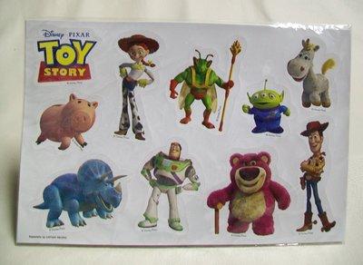 迪士尼 玩具總動員 胡迪 巴斯光年 三眼怪 電影 可愛貼紙