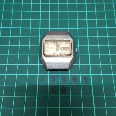 機械錶「擺動順暢」TELUX  男錶 老錶 非 Rolex SEIKO ORIENT OMEGA lv CK 潛水錶 石英錶 三眼錶 水鬼錶 C04