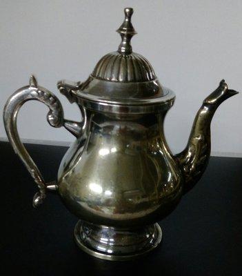 77 歐洲優雅鍍銀壺 Silver plate Teapot ( 無使用過 )