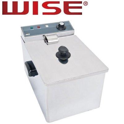 一鑫餐具【WISE 電力式油炸機 8公升 WFT-8L】桌上型電力式油炸機油炸鍋