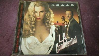 [鐵面特警隊]電影原聲帶 L.A. Confidential O.S.T.(非配樂) -二手CD絕版品